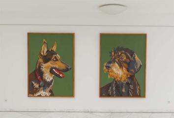 Ausstellungsansicht, Koenraad-Bosman-Museum Rees, 2011