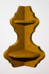 o. T. (Eckregal III), Öl auf Leinwand, 60 x 40 cm, 2014