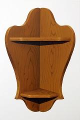 o. T. (Eckregal I), Öl auf Leinwand, 75 x 50 cm, 2011