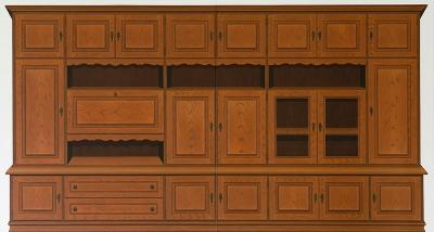 o. T. (Schrankwand), Öl auf Leinwand, 210 x 390 cm, 2013