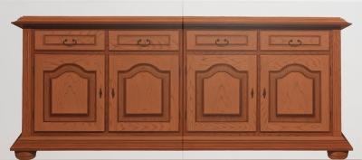 o. T. (Sideboard), Öl auf Leinwand, 100 x 230 cm, 2011