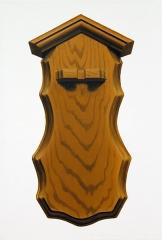 o. T. (Zinnlöffelhalter 5), Öl auf Leinwand, 35 x 24 cm, 2013