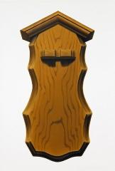 o. T. (Zinnlöffelhalter 8), Öl auf Leinwand, 35 x 24 cm, 2013