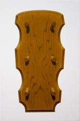o. T. (Zinnstamperwandbrett), Öl auf Leinwand, 45 x 30 cm, 2013