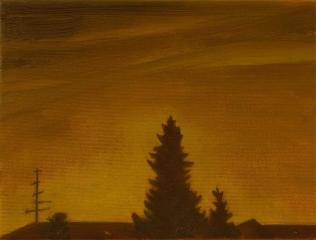 o. T., Öl auf Leinwand, 18 x 24 cm, 2011