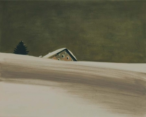 o. T., Öl auf Leinwand, 40 x 50 cm, 2011