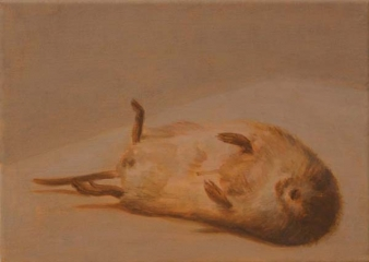 o. T., Acryl auf Leinwand, 25 x 35 cm, 2011