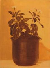 IMMER GRÜN, Acryl auf Leinwand, 40 x 30 cm, 2011