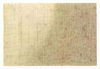 SPOT, Farbstift auf Papier, 10 x 14,5 cm, 2012