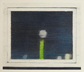 FENSTERLEIN, Farbstift auf Papier, 18 x 21 cm, 2018