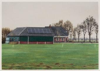 o. T., Farbstift auf Papier, 30 x 42 cm, 2018
