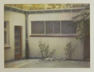 DAS LAGER, Farbstift auf Papier, 26 x 34 cm, 2013