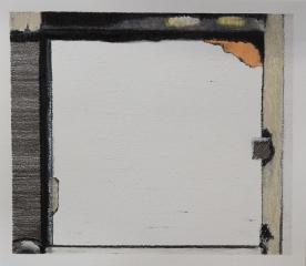 o. T., Farbstift auf Papier, 14,8 x 17 cm, 2018