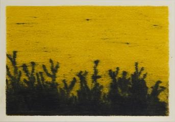 SCHATTEN, Farbstift auf Papier, 15 x 21 cm, 2018