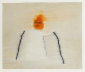 o. T., Farbstift auf Papier, 19 x 22 cm, 2017